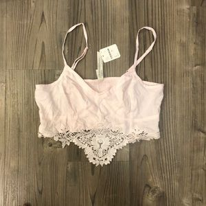 NWT Intimately Free People size S longline bra